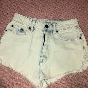 BDG high wasted jean shorts